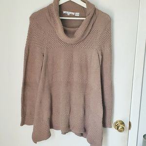 Eight Eight Eight cowl neck tan sweater